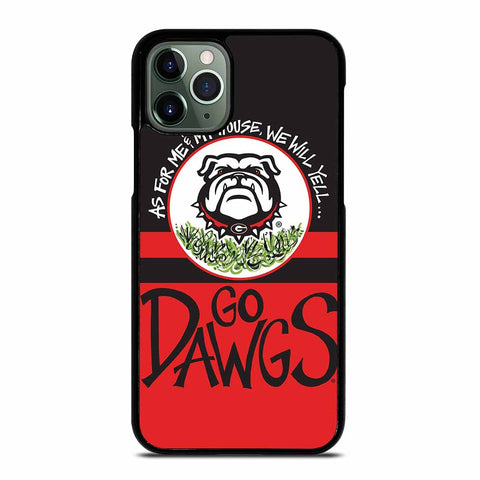 UGA GEORGIA BULLDOGS YELL iPhone 11 Pro Max Case