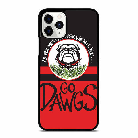 UGA GEORGIA BULLDOGS YELL iPhone 11 Pro Case