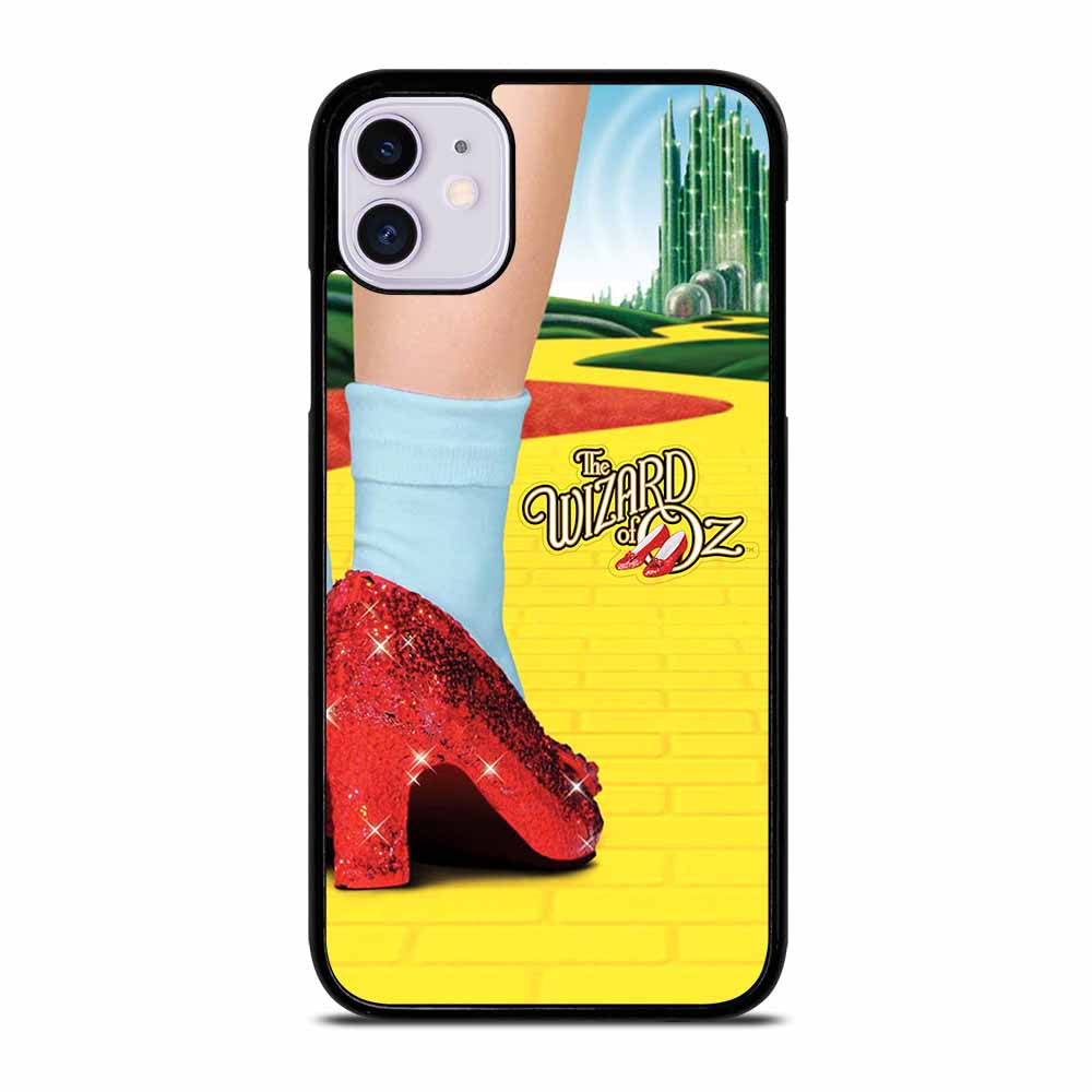WIZARD OF OZ DOROTHY RED SLIPPERS iPhone 11 Case