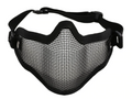 Half Face Mesh Mask Black