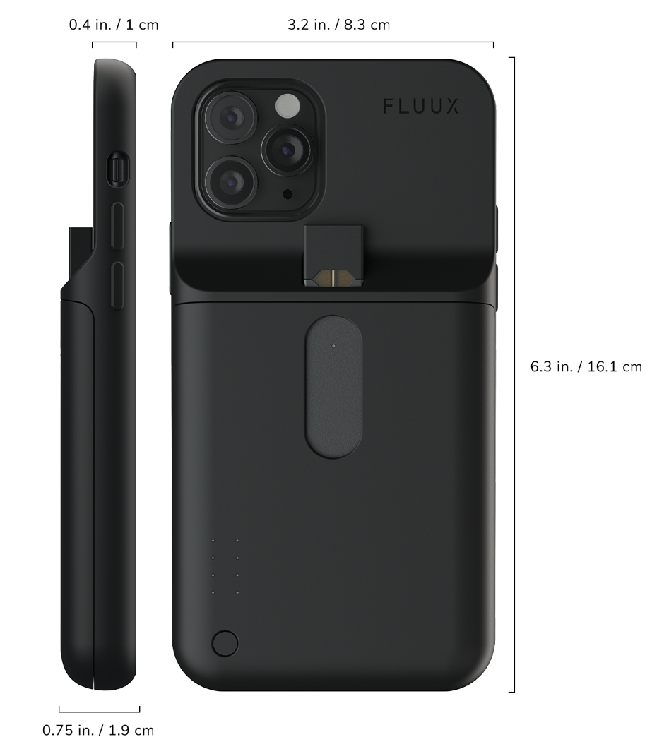 Specs for iPhone X/Xs Fluux Case