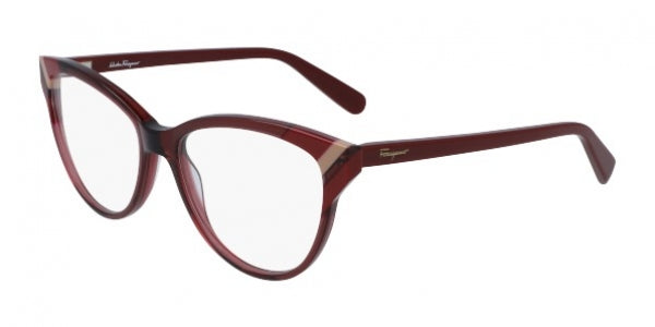 SALVATORE FERRAGAMO EYEGLASSES SF2844 606 RX-ABLE