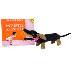 Whistle for Willie Book and Plush Set