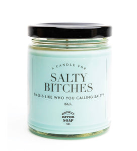 Whiskey River Soap Co Salty Bitches Candle