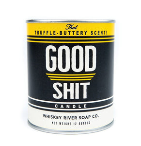 Whiskey River Soap Company Good Sh*t Candle