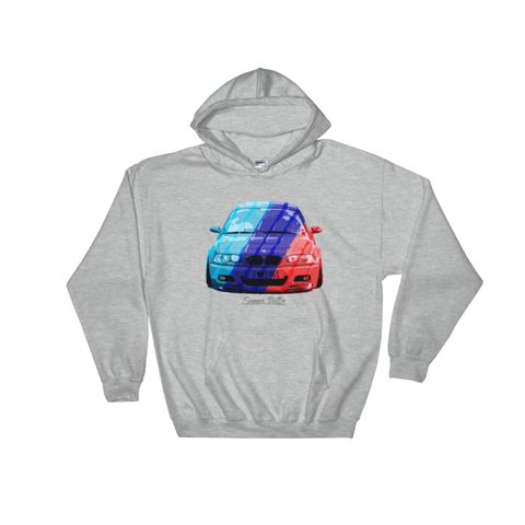 I Love e46 Hooded Sweatshirt
