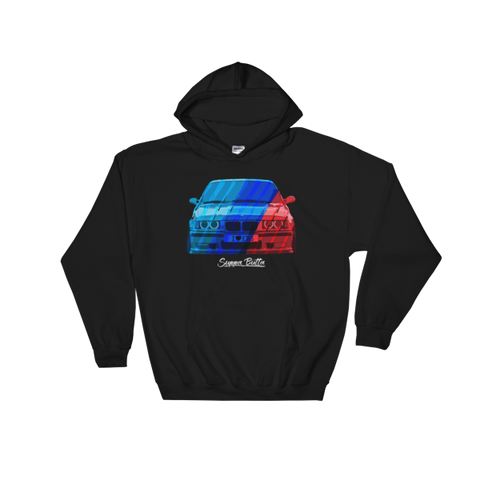 I Love e36s Hooded Sweatshirt