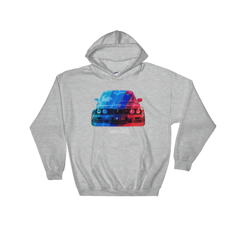I Love e30s Hooded Sweatshirt