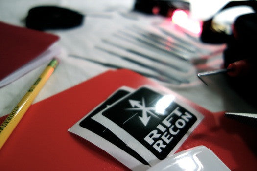 Rift Recon Stickers - Rift Recon