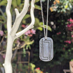 Lockpick Dog Tag