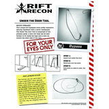 The Rift Recon Under The Door Tool 2.0 - Rift Recon