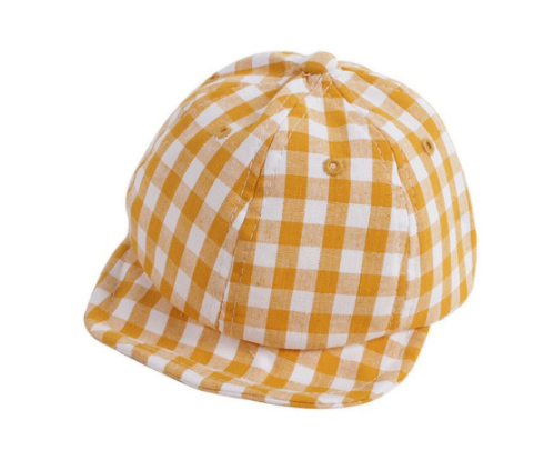 Checker Baseball Cap