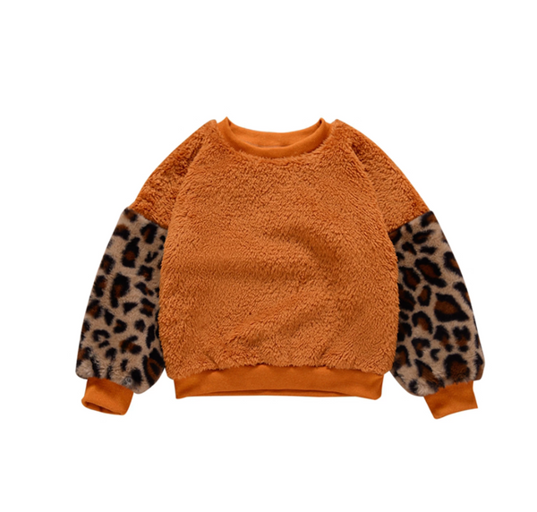 Leopard Fluffy Sweater