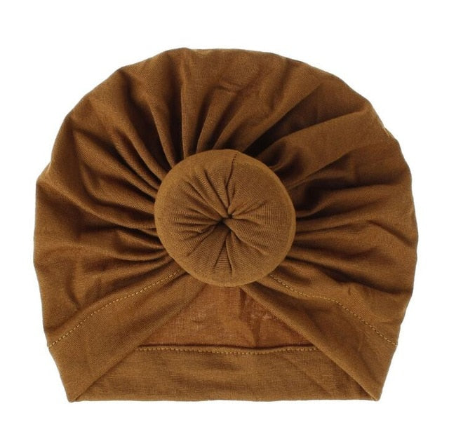 Rust Turban Head Wrap