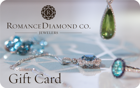 Romance Diamond Gift Cards for the new year