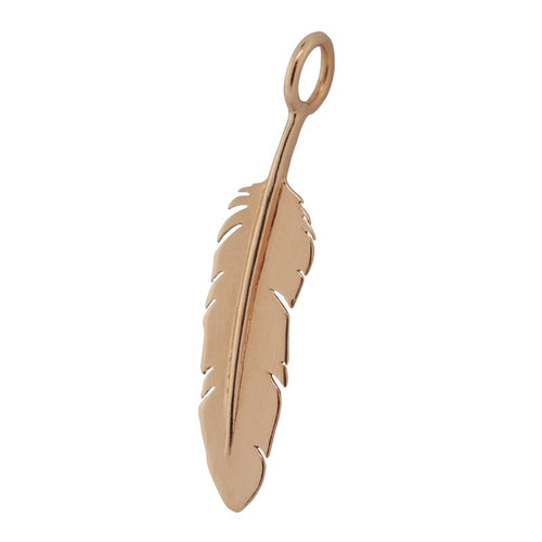 Heather B. Moore Feather Sculptural Charm