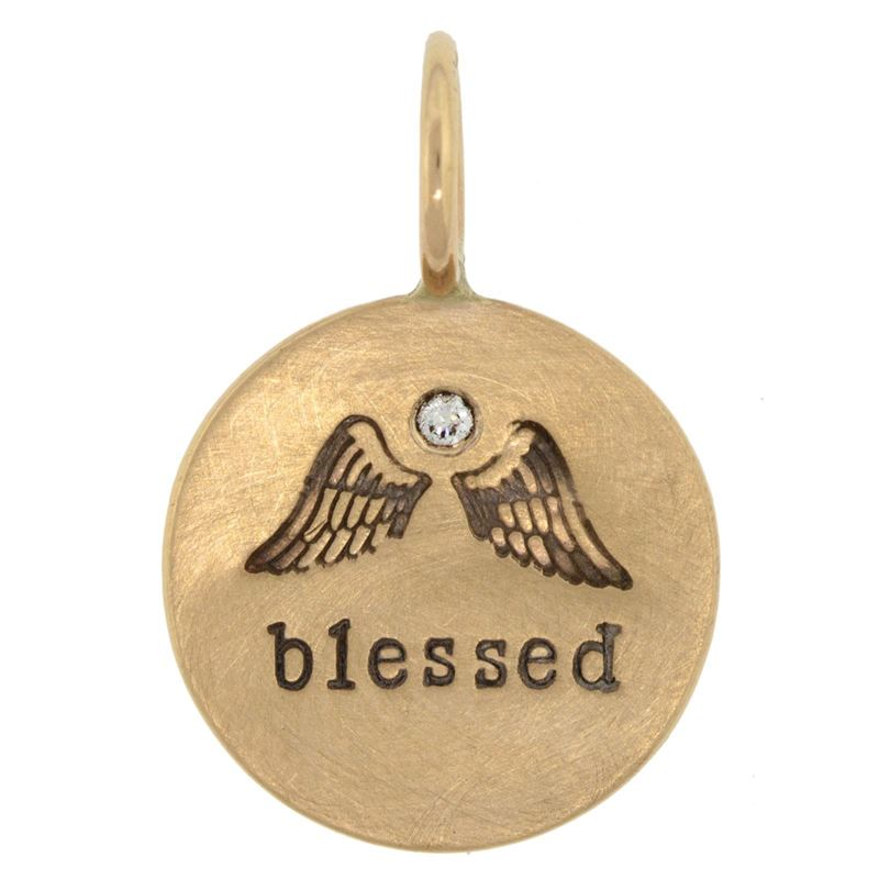 Heather B. Moore Blessed Round Charm