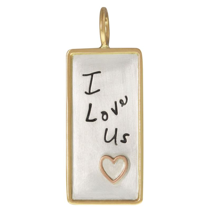Heather B. Moore I Love Us ID Tag