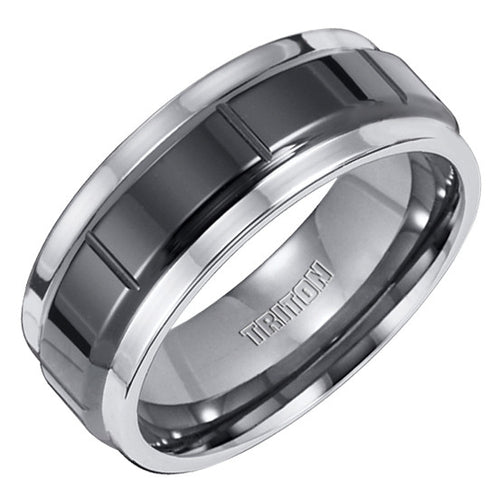 Gents Tungsten Wedding Band Size 10