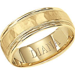 Gent's Yellow 18 Karat Wedding Band