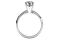 Ritani Solitaire Diamond Knife-Edge Engagement Ring