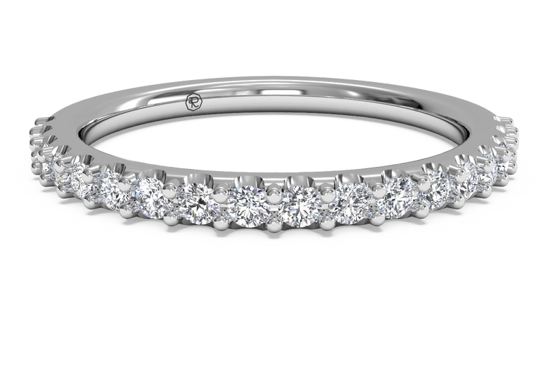 Ritani Women's French-Set Diamond Wedding Band