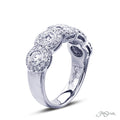 JB Star Five Round Diamond Pave Band