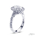 JB Star Oval Diamond Ring