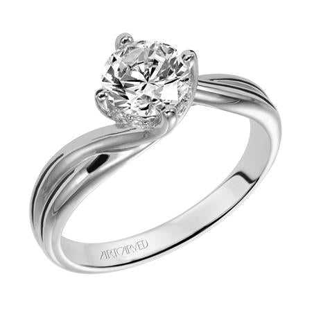 "ArtCarved ""Whitney"" Engagement Ring"