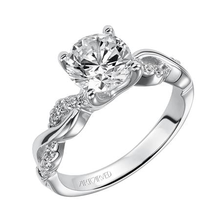 "ArtCarved ""Gabriella"" Engagement Ring"