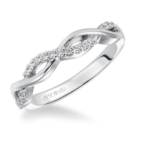 "ArtCarved ""Gabriella"" Wedding Band"