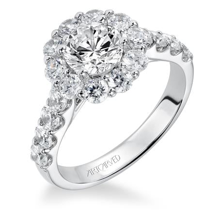 "ArtCarved ""Wynona"" Engagement Ring"