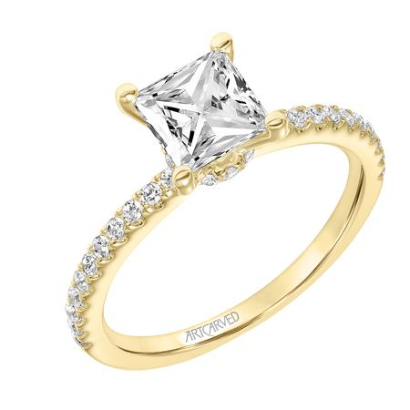 "ArtCarved ""Sybil"" Engagement Ring"