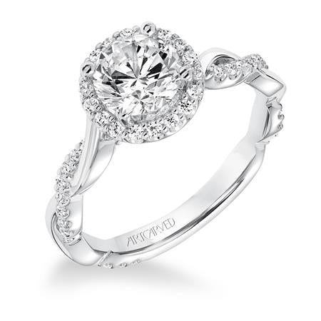 "ArtCarved ""Kinsley"" Engagement Ring"
