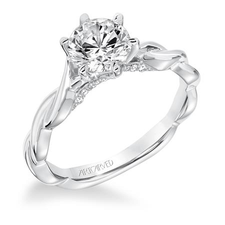 "ArtCarved ""Tala"" Engagement Ring"