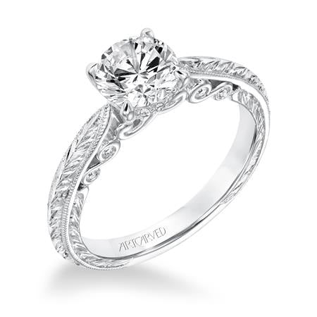 "ArtCarved ""Anwen"" Engagement Ring"