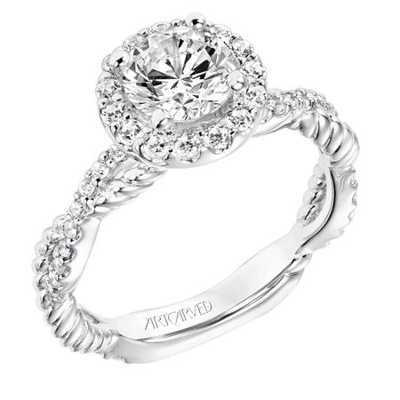 "ArtCarved ""Isobel"" Engagement Ring"