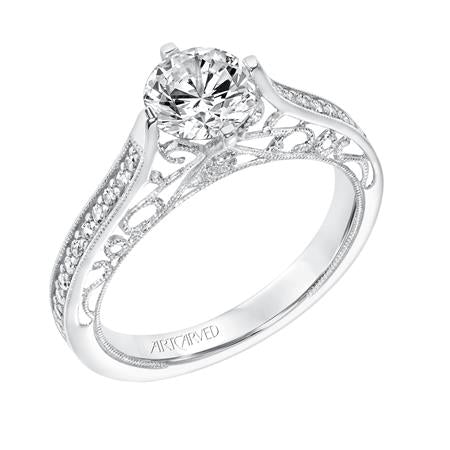 "ArtCarved ""Juliana"" Engagement Ring"