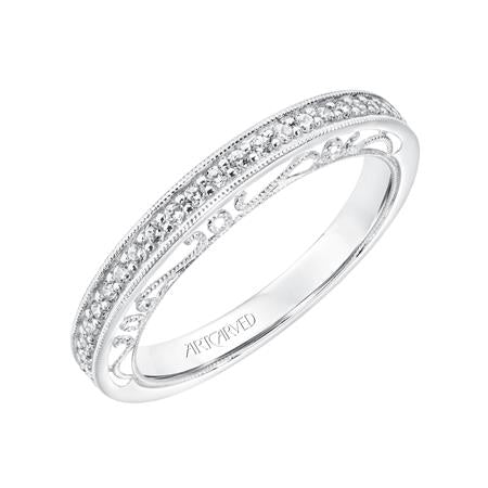 "ArtCarved ""Juliana"" Wedding Band"
