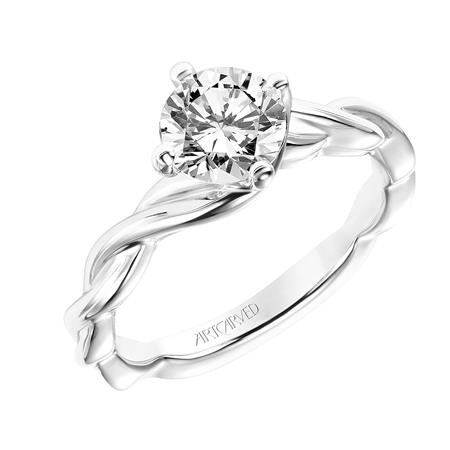 "ArtCarved ""Kassidy"" Engagement Ring"