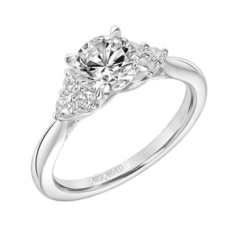 "ArtCarved ""Maryann"" Engagement Ring"