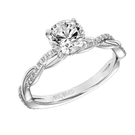 "ArtCarved ""Cassidy"" Engagement Ring"