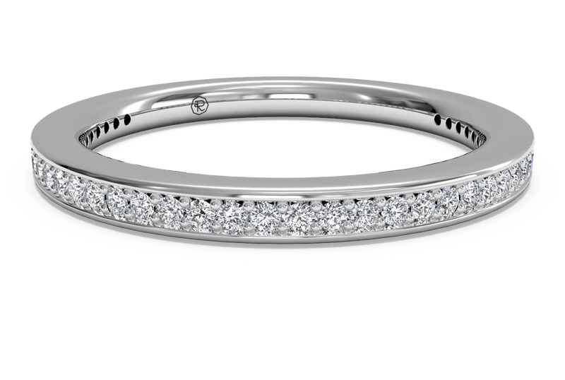 Ritani Women's Micropavé Diamond Eternity Wedding Band