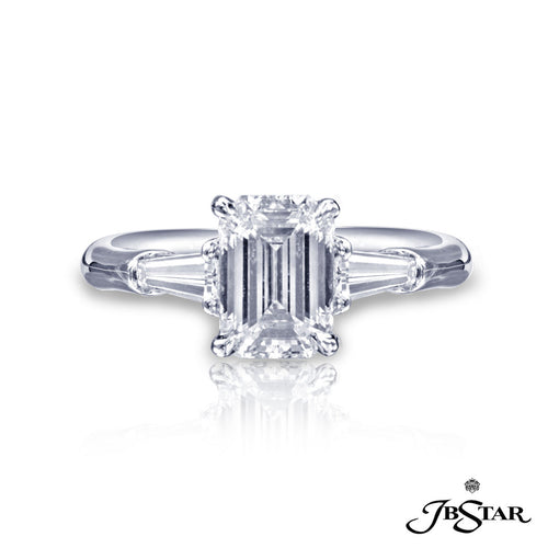JB Star Emerald Cut Diamond Ring