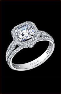 C. Gonshor Engagement Ring