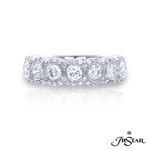 JB Star Pave Round Diamond Band