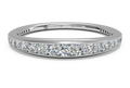 Ritani Women's Pavé Diamond Wedding Band