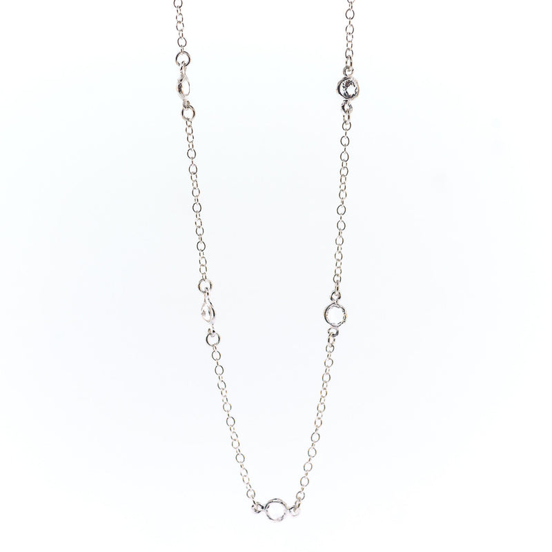 Arkansas Quartz Petite Necklace - 16""