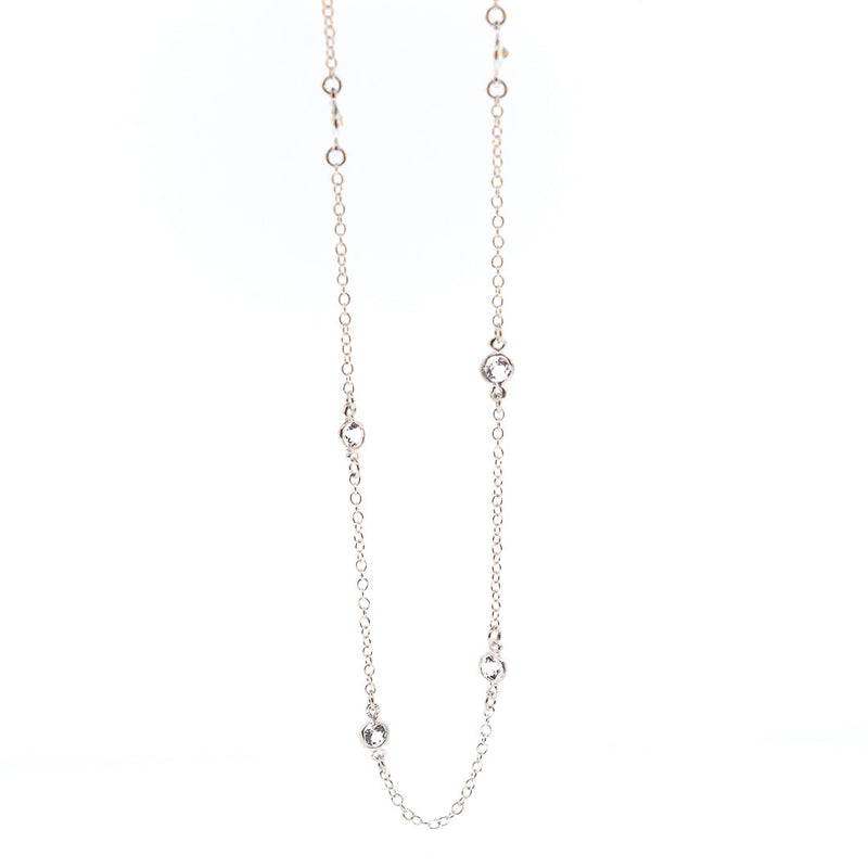 Arkansas Quartz Petite Necklace - 20""