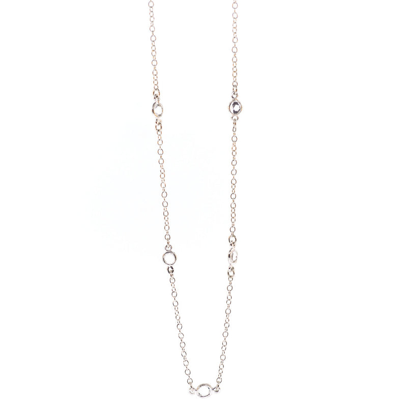 Arkansas Quartz Petite Necklace - 24""